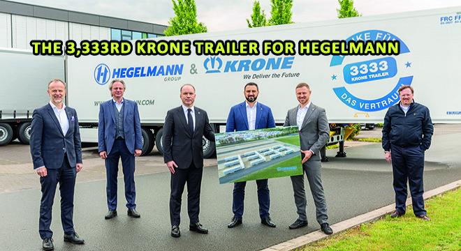 The 3,333rd Krone Trailer For Hegelmann