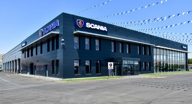 'WE TRUST IN SCANIA'