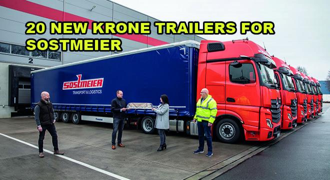 20 New Krone Trailers For Sostmeier