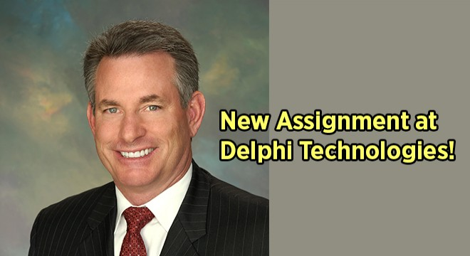 A NEW CEO AT DELPHI TECHNOLOGIES!
