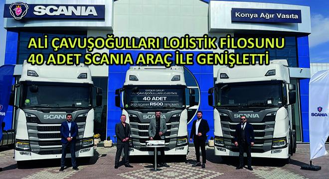 Ali Çavuşoğulları Lojistik Filosunu 40 Adet Scania Araç ile Genişletti