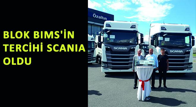 Blok Bims'in Tercihi Scania Oldu