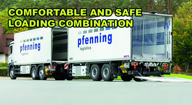 Comfortable and Safe Loading Combination