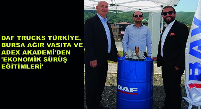 DAF Trucks Türkiye, Bursa Ağır Vasıta ve Adex Akademi'den 'Ekonomik Sürüş Eğitimleri'
