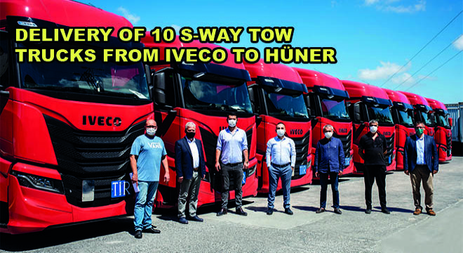 Delivery Of 10 S-Way Tow Trucks From Iveco To Hüner