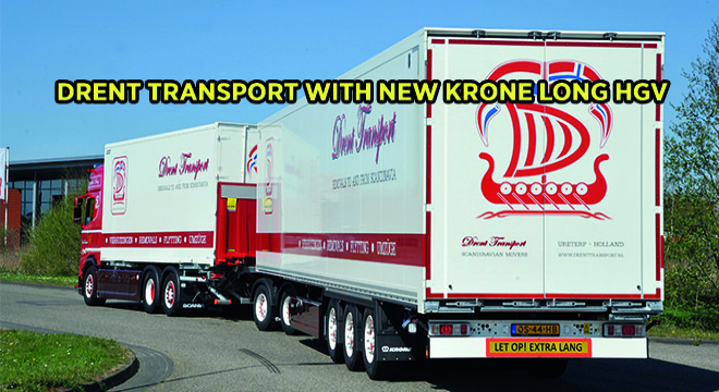 Drent Transport With New Krone Long HGV