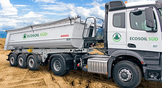 ECOSOIL acquires 17 additional Kögel tipper trailers