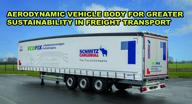 Aerodynamic Vehicle Body For Greater Sustainability In Freight Transport
