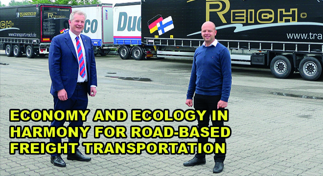 Economy And Ecology In Harmony For Road-Based Freight Transportation