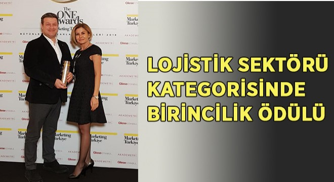 Ekol, The One Awards'ta Lojistik Sektör Birincisi