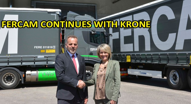Fercam Continues With Krone