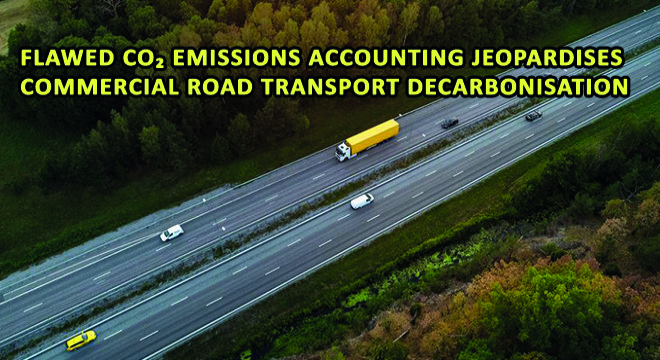 Flawed CO Emissions Accounting Jeopardises Commercial Road Transport Decarbonisation