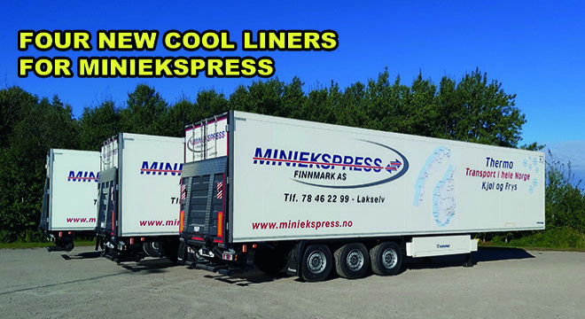 Four New Cool Liners For Miniekspress