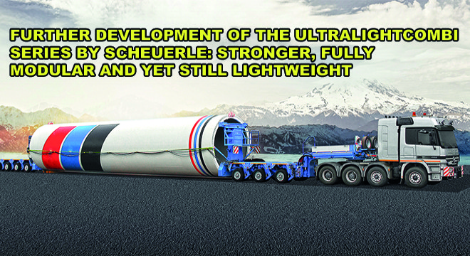 Further Development Of The Ultralightcombi Series By SCHEUERLE: Stronger, Fully Modular And Yet Still Lightweight