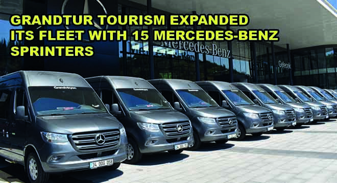 Grandtur Tourism Expanded Its Fleet With 15 Mercedes-Benz Sprinters