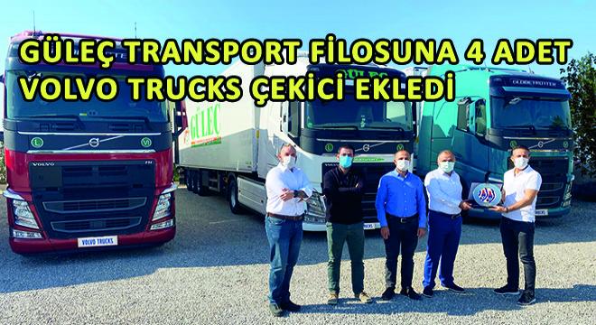 Güleç Transport Filosuna 4 Adet Volvo Trucks Çekici Ekledi