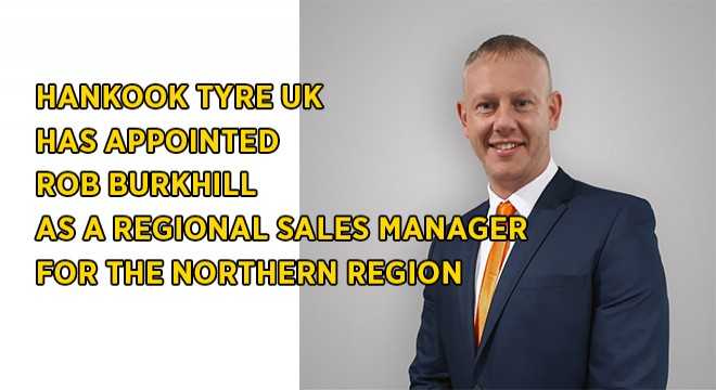 Hankook Tyre UK Appoints New Regional Sales Manager
