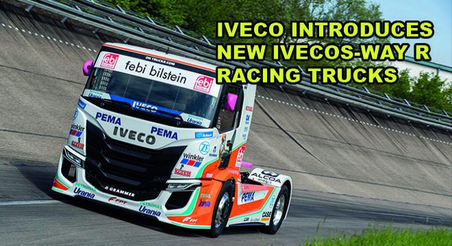 IVECO Introduces New Iveco S-Way R Racing Trucks
