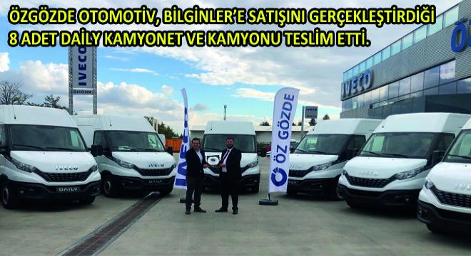 IVECO'dan Ankara'da Daily Kamyonet ve Kamyon Teslimatı