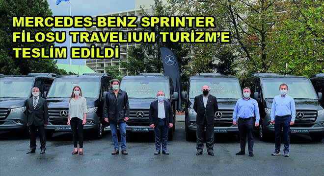 İlk 10+1 Koltuklu Mercedes-Benz Sprinter Filosu Travelium Turizm'e Teslim Edildi