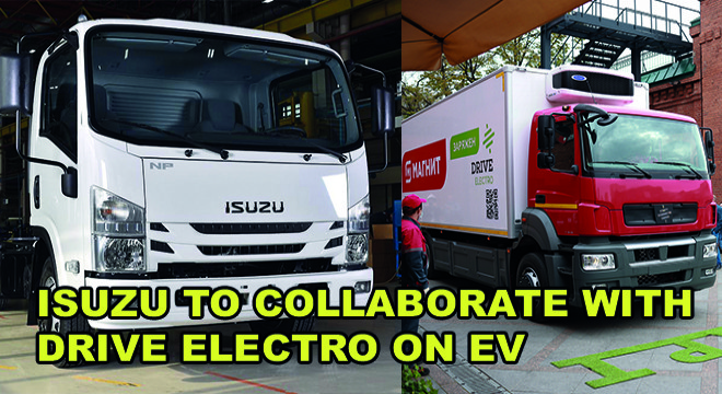 Isuzu to Collaborate With Drive Electro on EV