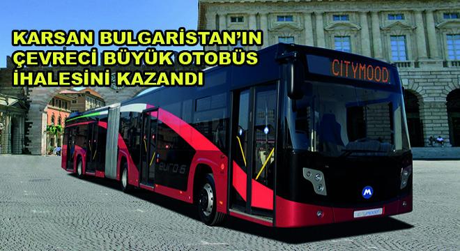 Karsan 13 Adet Doğalgazlı Citymood Otobüs İhalesini Kazandı
