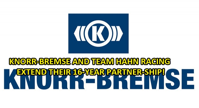 Knorr-Bremse and Team Hahn Racing Extend Their 16-Year Partner-Ship
