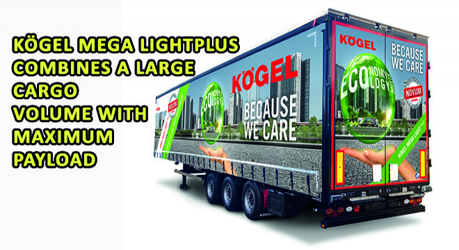 Kögel Mega Lightplus Combines A Large Cargo Volume With Maximum Payload