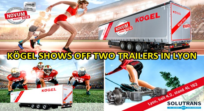 Kögel Shows Off Two Trailers In Lyon