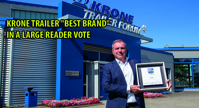 Krone Trailer 'Best Brand' In A Large Reader Vote