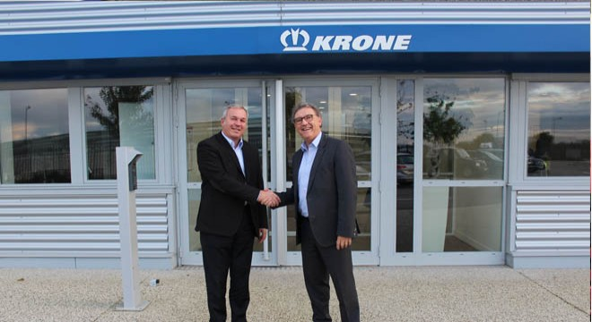 Krone With Vehicle Variety and New Management at Solutrans