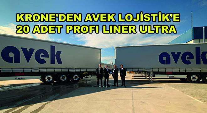 Krone'den Avek Lojistik'e 20 Adet Profi Liner Ultra