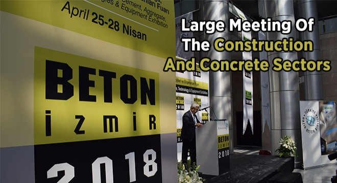 Large Meeting Of The Construction And Concrete Sectors
