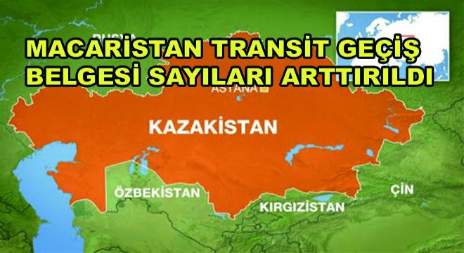 Macaristan Transit Geçiş Belgesi Sayıları Arttırıldı