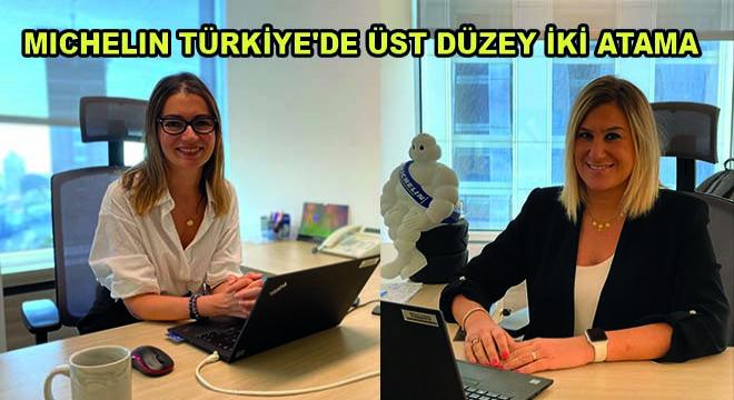 Michelin Türkiye'de Üst Düzey İki Atama Gerçekleşti