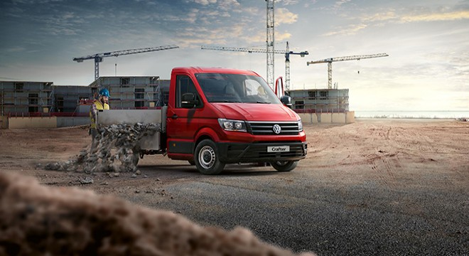 NEW VOLKSWAGEN CRAFTER PICK-UP ARRIVES TO RELIEVE THE BURDEN OF COMMERCE!