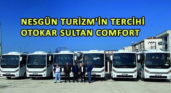 Nesgün Turizm'in Tercihi Otokar Sultan Comfort