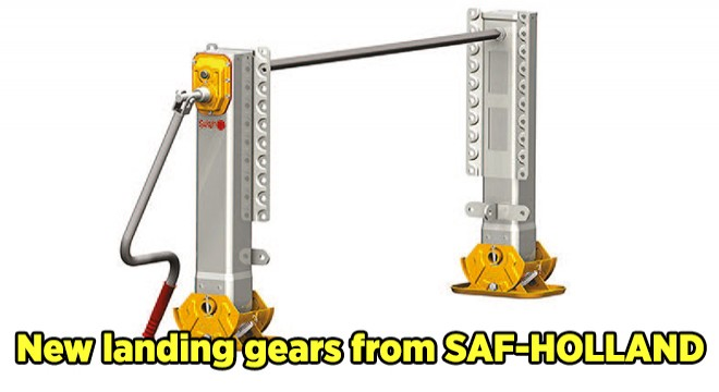 New landing gears from SAF-HOLLAND