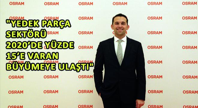 OSRAM Türkiye Otomotiv Satış Müdürü Can Sürücü;