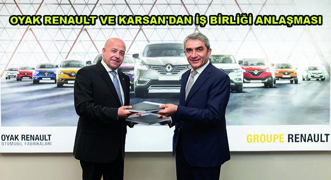 Oyak Renault ve Karsan'dan İş Birliği Anlaşması