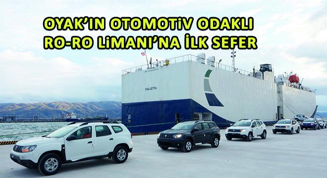 Oyak'ın Otomotiv Odaklı Ro-Ro Limanı'na İlk Uluslararası Deneme Seferi Gerçekleştirildi