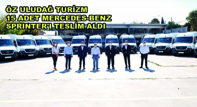 Öz Uludağ Turizm 15 Adet Mercedes-Benz Sprinter'ı Teslim Aldı