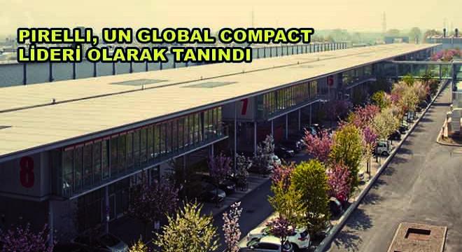 Pırellı, Un Global Compact Lideri Olarak Tanındı