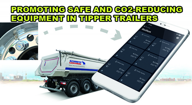 Promoting Safe And CO2-Reducing Equipment in Tipper Trailers
