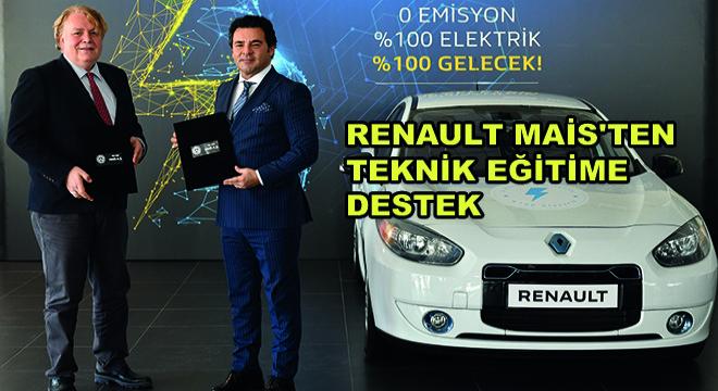 Renault MAİS'ten Teknik Eğitime Destek