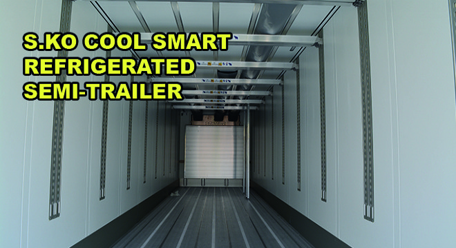 S.Ko Cool Smart Refrigerated Semi-Trailer