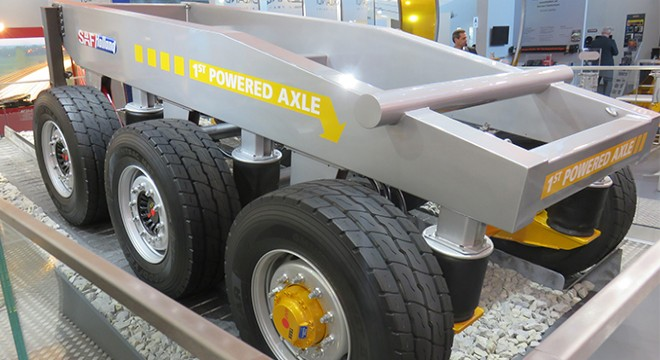 SAF-HOLLAND: Additional Power for Construction Vehicles