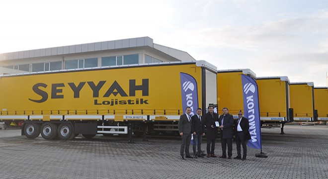 SEYYAH LOGISTICS FLEET  GROWS WITH ''KOLUMAN TRAILER''
