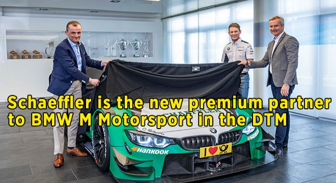 Schaeffler New Premium Partner To BMW M Motorsport