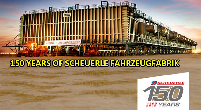 Scheuerle Fahrzeugfabrik İs Celebrating İts 150th Anniversary.